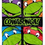 "Teenage Mutant Ninja Turtles Silk Touch Throw Blanket 40"" X 50"""