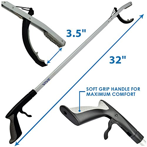 Reach Assist Arm : Vive claw reacher grabber ″ extra long best reach