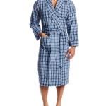 Hanes Men's Woven Shawl Collar Robe