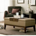 This versatile and sylish storage ottoman can be used as an bench chair, foot rest or coffee table.