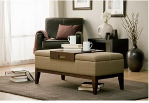 This Versatile And Sylish Storage Ottoman Can Be Used As
