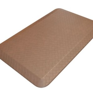 NewLife Lets GelPro Designer Comfort Anti Fatigue Kitchen Floor Mat, 20 by 32-Inch, Khaki