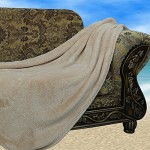 Sofantex Super Soft Blanket / Throw (Camel, 40 X 60)