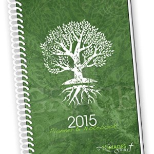 2015 TREE OF LIFE INSPIRATIONAL Christian Planner Calendar Year Daily Day Planners Weekly Monthly Organizer Agenda & Appointment Book Notebook Time with God Bible Reading Plan & Scripture Jesus Calling Academic Homeschool for Mom Students to Plan 6 x 9