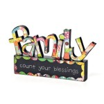 COLORFUL DEVOTIONS by DEMDACO Family Sculpture Décor