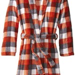 Calvin Klein Big Boys' CK Plaid Bathrobe