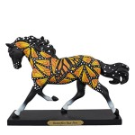 Trail of the Painted Ponies Butterflies Run Free Figurine
