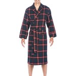 Noble Mount Mens Premium 100% Cotton Flannel Robe - Introductory Price