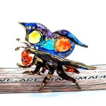 Handmade Butterfly Art Glass Blown Bug / Insect / Animal Figurine