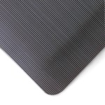 Notrax Ergo Mat Grande Anti-Fatigue Mat - 3X5' - Black - 3x5'