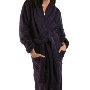 Alexander Del Rossa Women's Microfiber Fleece Bathrobe Robe