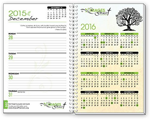 2015 tree of life inspirational christian planner calendar