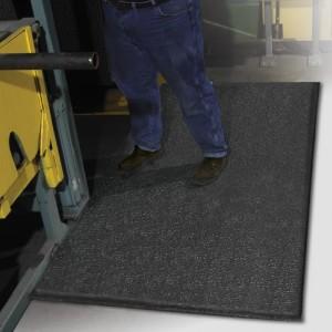 Ergo Flex Anti Fatigue Floor Mat Pebble Black 3′ X 5′ X 1/2″