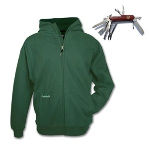 Arborwear Double Thick Full Zip Hoodie – With Free Pocket Knife