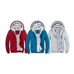Nanxson Men's Warm Baseball Sweater Casual Hoodies Jacket Sports Coat WTM0024