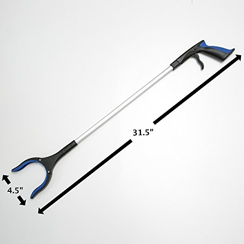 30 Folding Grabber Pick Up Tool Reacher Extend Easy Reaching Stick Trash