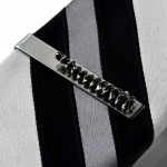 Spine Tie Clip, Wedding Favor, Groomsmen Gift, Gift Box Included